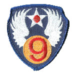 Insignia of the US 9th AAF