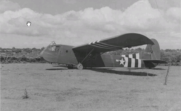 Waco Glider at Upottery July 1944