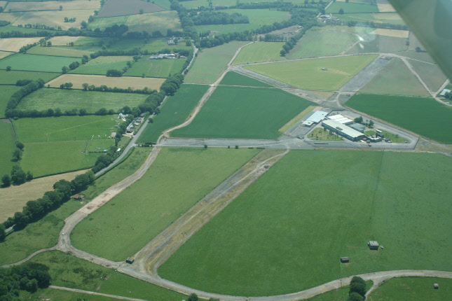 Culmhead from the air