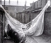 unexploded parachute mine